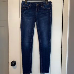 Decree Medium Wash Stretch Denim Legging Size 5 Jr